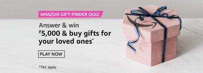 Amazon Gift Finder Quiz